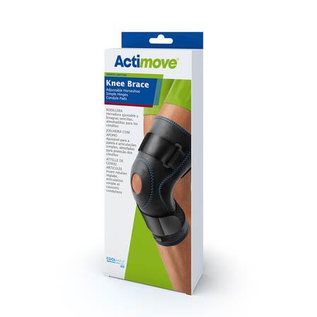 Actimove Hinged Knee Brace, Black