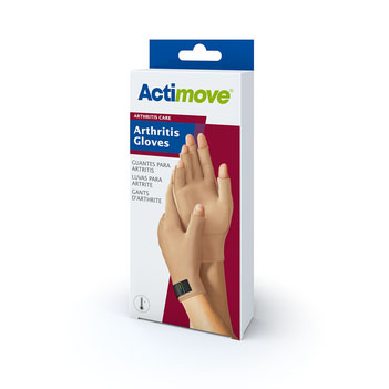 Actimove Arthritis Gloves, Beige