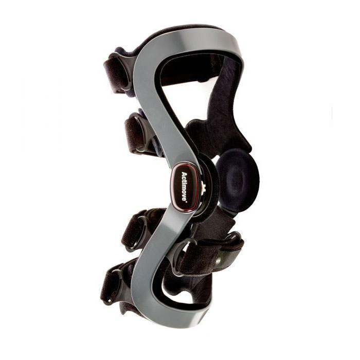 Actimove Anterior Standard Functional Knee Brace, Black