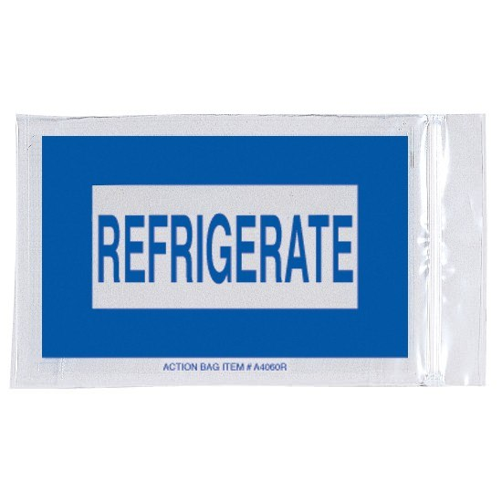 Action Health Refrigerated Meds Reclosable Bag