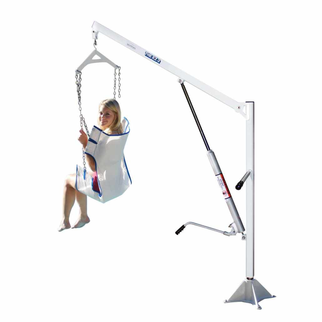 EZ 2 pool lift with sling seat
