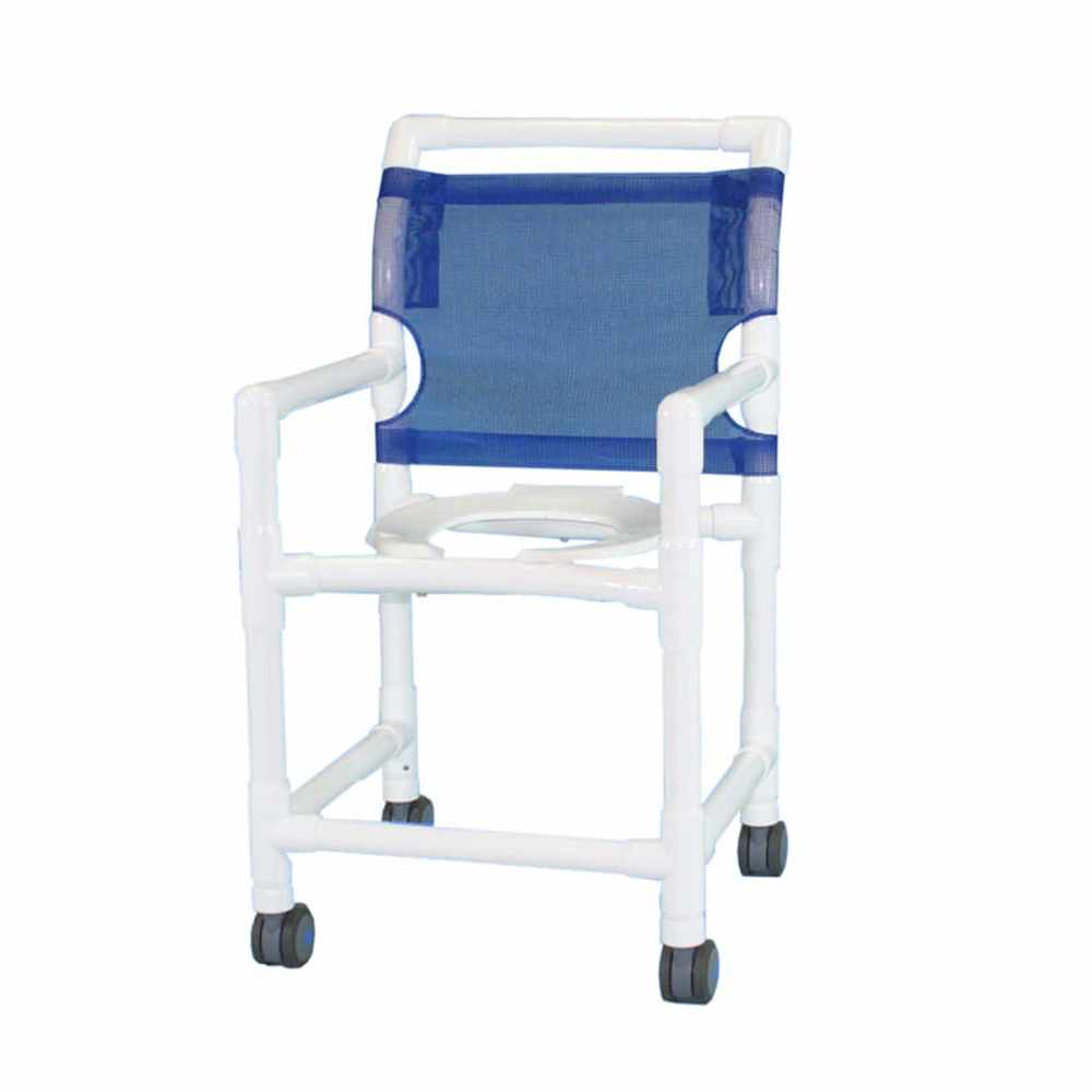Aqua creek PVC shower/commode chair