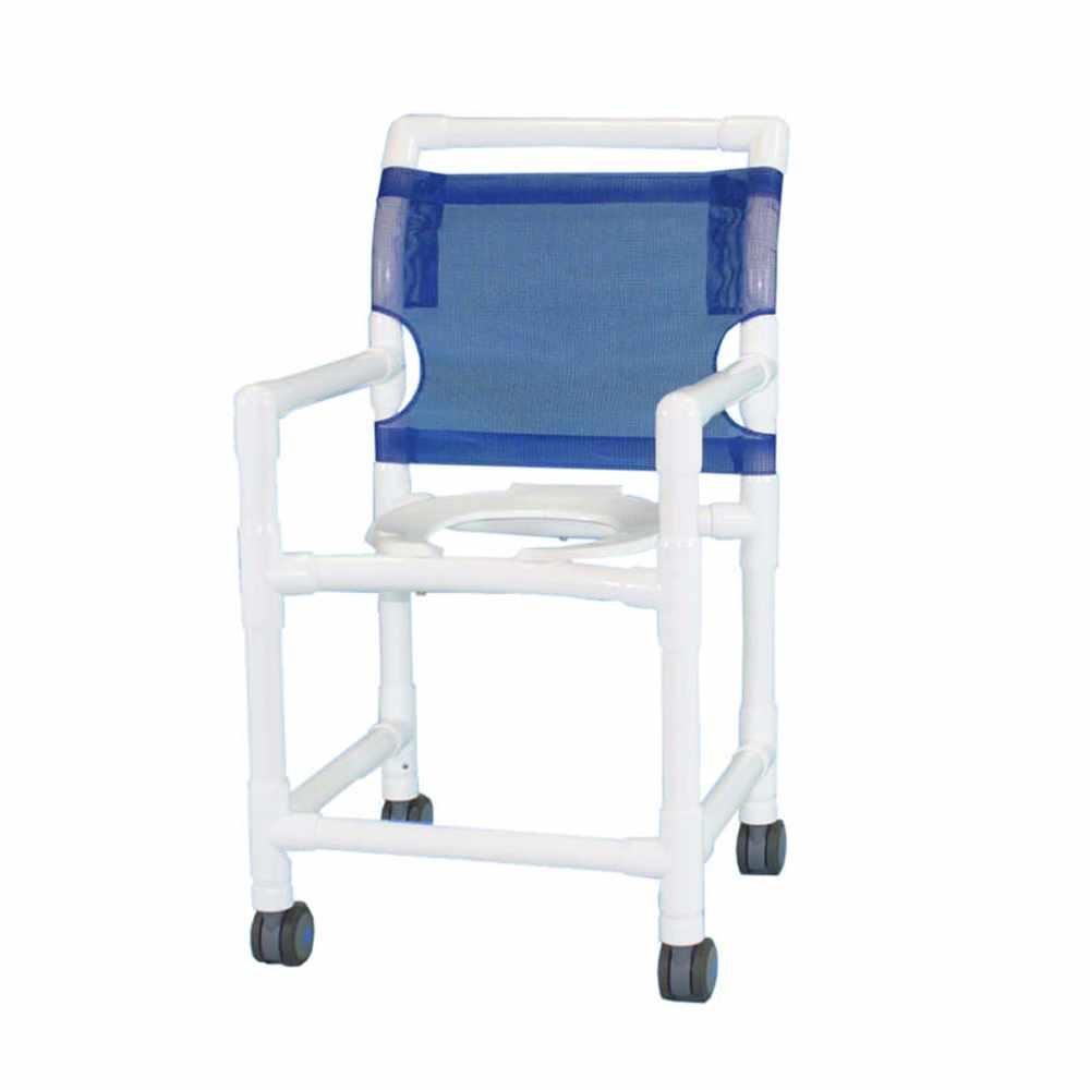 Aqua creek PVC shower/commode chair