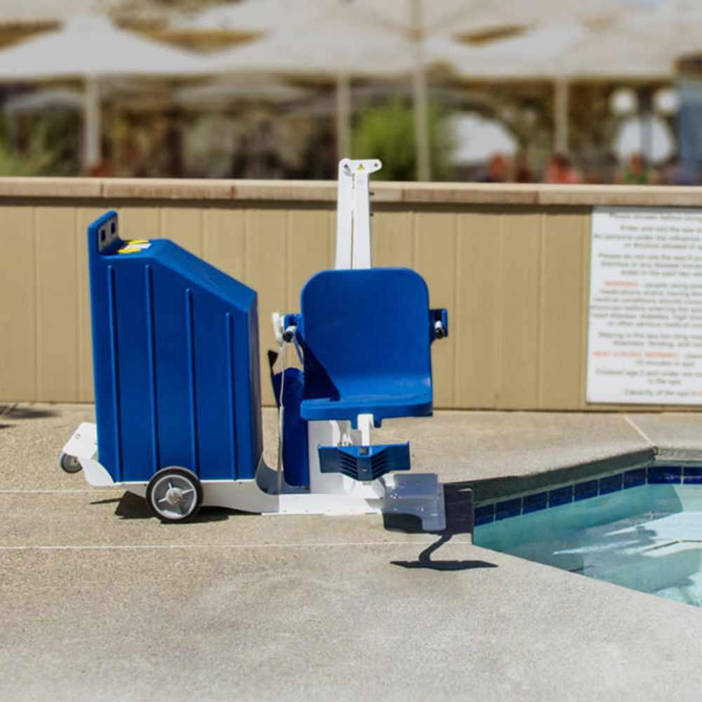 Aqua creek portable pro 2 pool lift