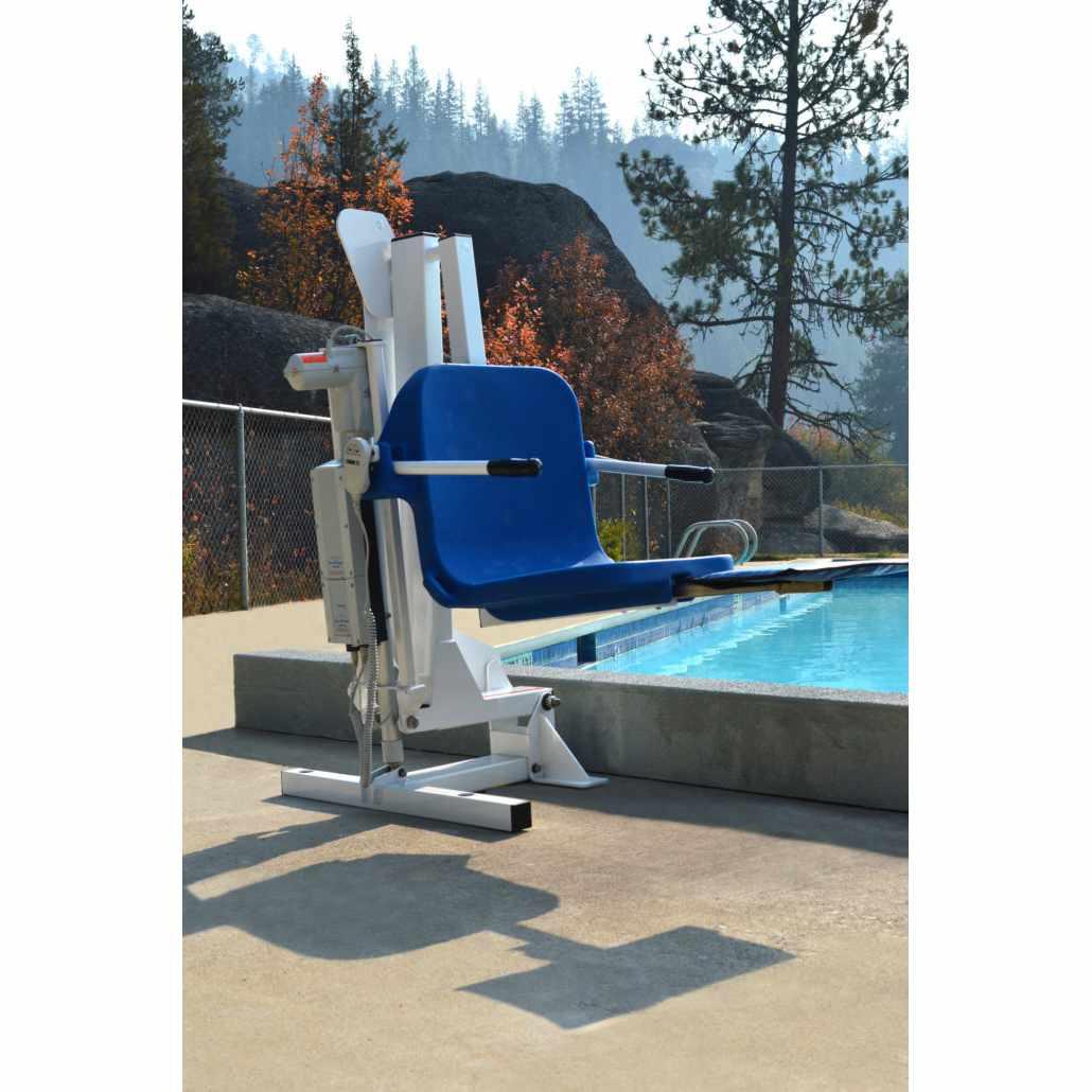 Ambassador powered pool lift