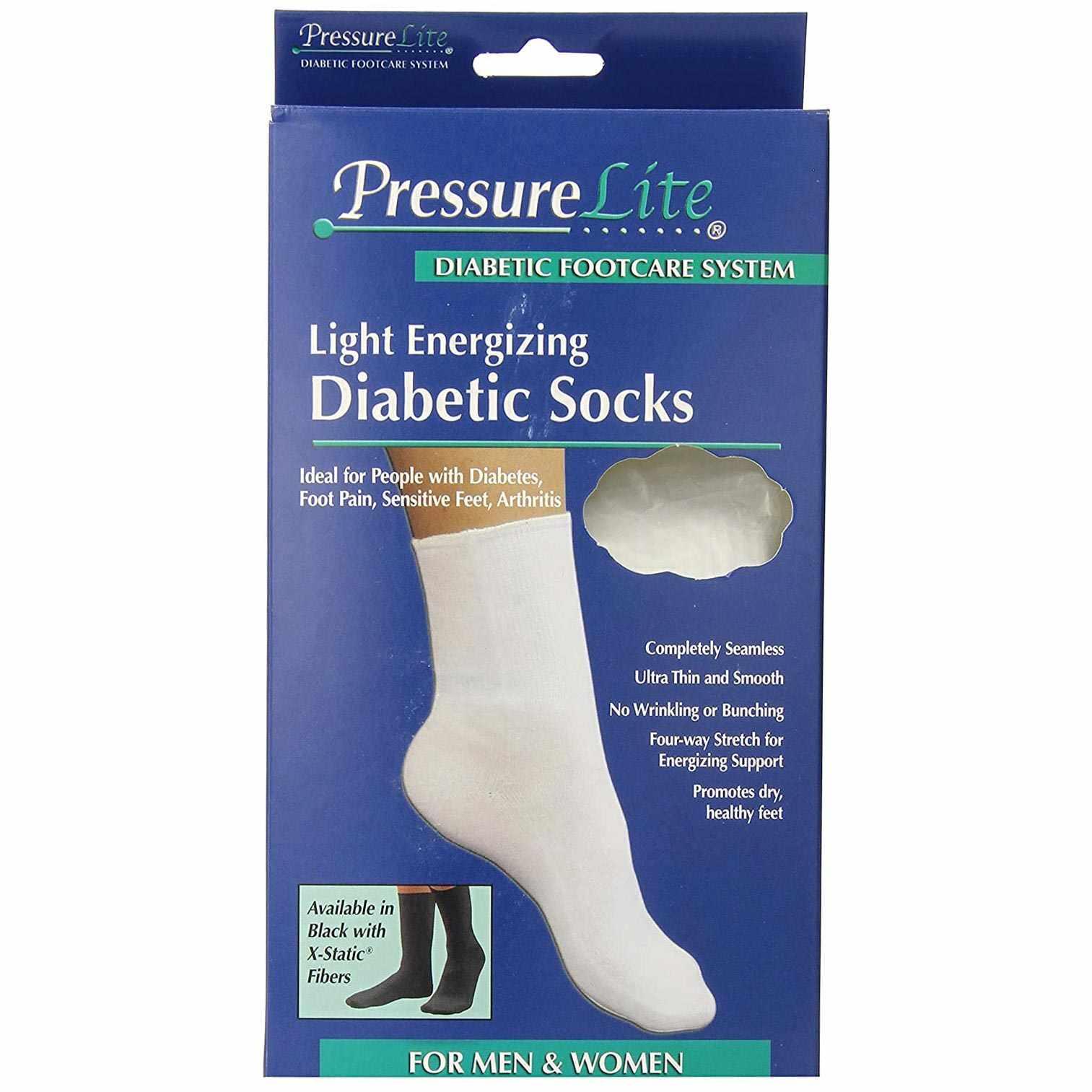 Activa Pressure Lite Light Energizing Diabetic Socks