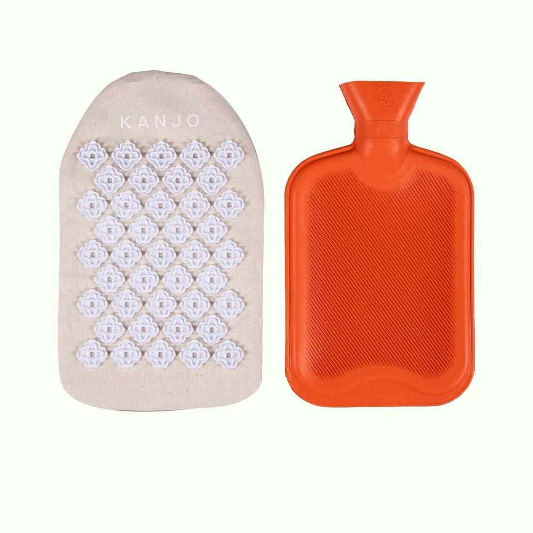 Acutens Kanjo Hot Water Bottle Acupressure Pillow