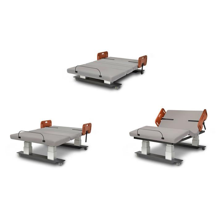 Assured Comfort Mobile Series Homecare Bed   Medicaleshop