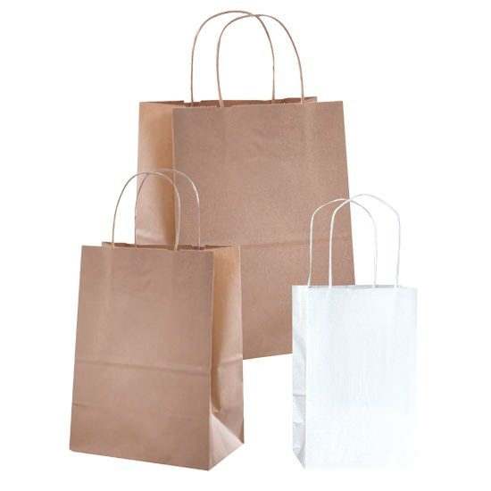 Action Health Paper Shopping Bags