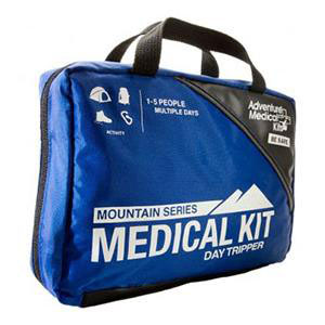 """Tender Corp Mountain Series Day Tripper Medical First Aid Kit 5-1/4"""" x 7-1/2"""" x 3"""""""