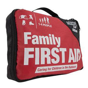 """Tender Corp Family First Aid Kit 6"""" x 8-1/2"""" x 3"""" For 1 to 3 People"""