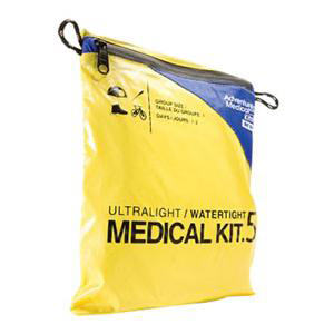 """Tender Corp Ultralight/Watertight First Aid Kit 0.5 6-1/2"""" x 5"""" x 1"""" For 1 Person"""