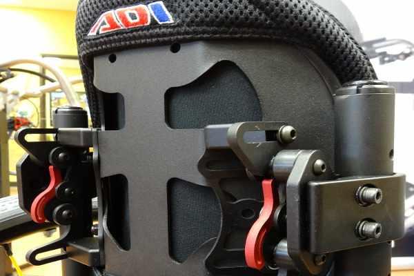 ADI aluminum back support - extra tall