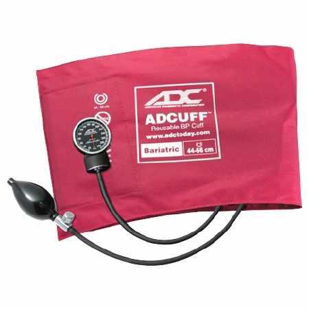 ADC Diagnostix Aneroid Sphygmomanometer Bariatric Pocket Style Hand Held 2-Tube Adult