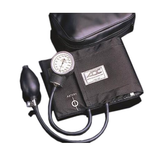 ADC Diagnostix Aneroid Sphygmomanometer Series, Pocket Style Hand Held, Large, Adult Arm