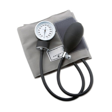 ADC Reusable Arm Aneroid Sphygmomanometer with Cuff, 2-Tubes