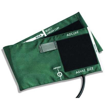 ADC Blood Pressure Cuff, 1-Tube Bladder Adult