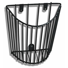 ADC Cuff Storage Basket Vinyl Coated Wire Sphygmomanometer Wall Unit