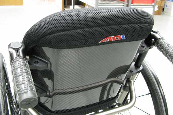 ADI carbon fiber series back support - medium