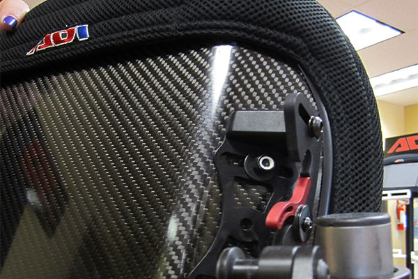 ADI carbon fiber back support - standard