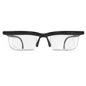 Adlens Adjustable Computer Eyewear with Black and Gray Frame