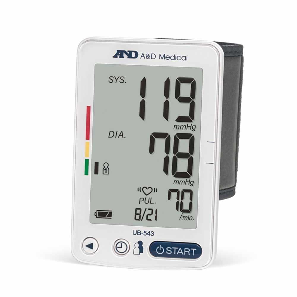 A&D Medical Premium Multi-User Wrist Blood Pressure Monitor