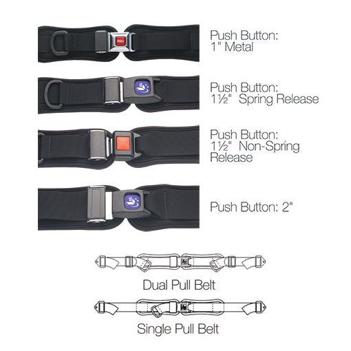 AEL Hip belt options