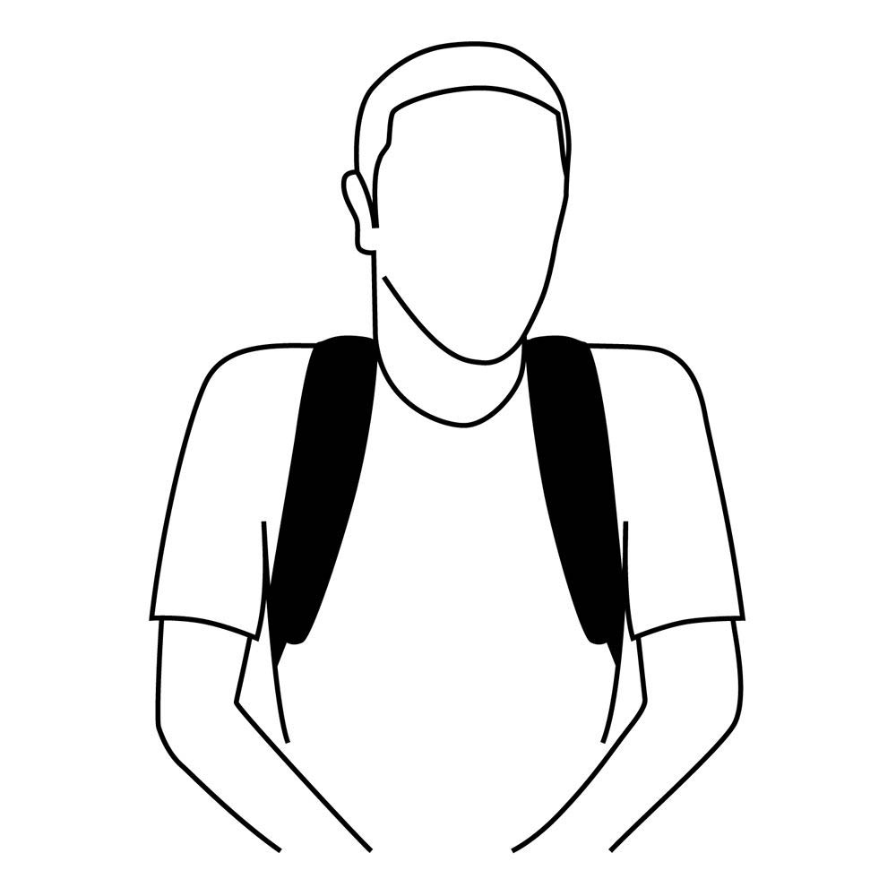 Dynaform Backpack Style Posture Support | AEL Seating
