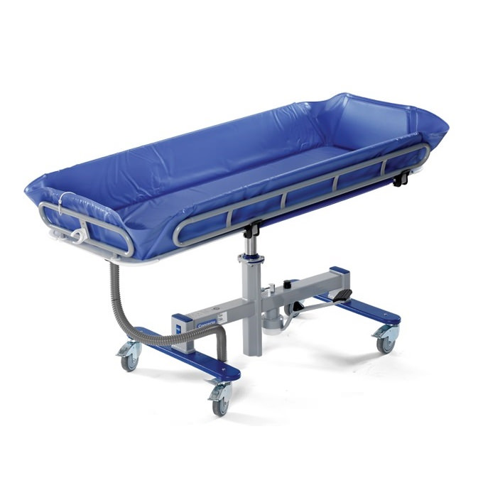 Arjo Concerto shower trolley- hydraulic