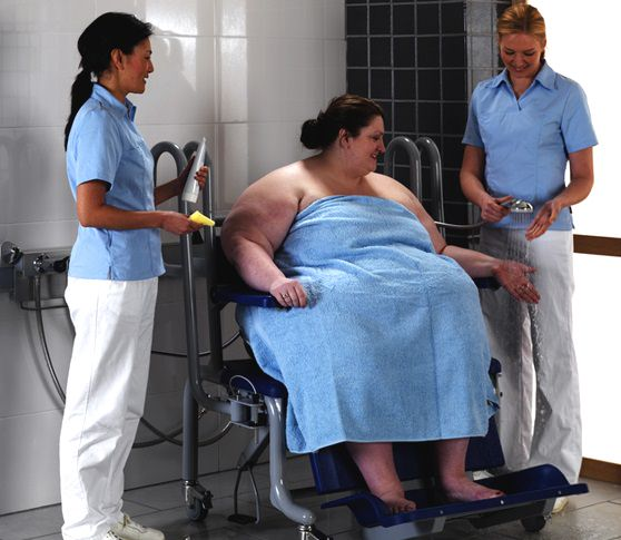 Arjo Carmina shower chair