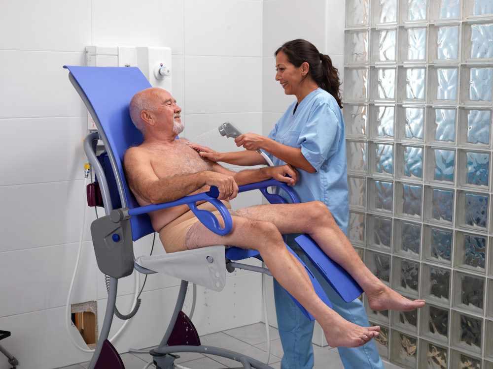 Arjo Carino shower chair