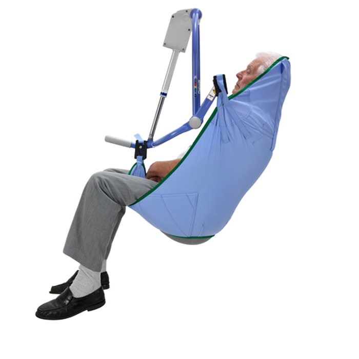 ArjoHuntleigh standard padded clip sling for 4-point patient lift