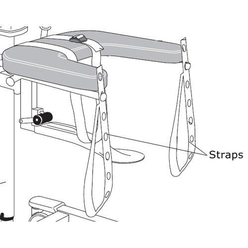 Arjo lift straps for lift walker - GCA0010-031