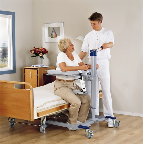 Arjo hydraulic lift walker (manual)
