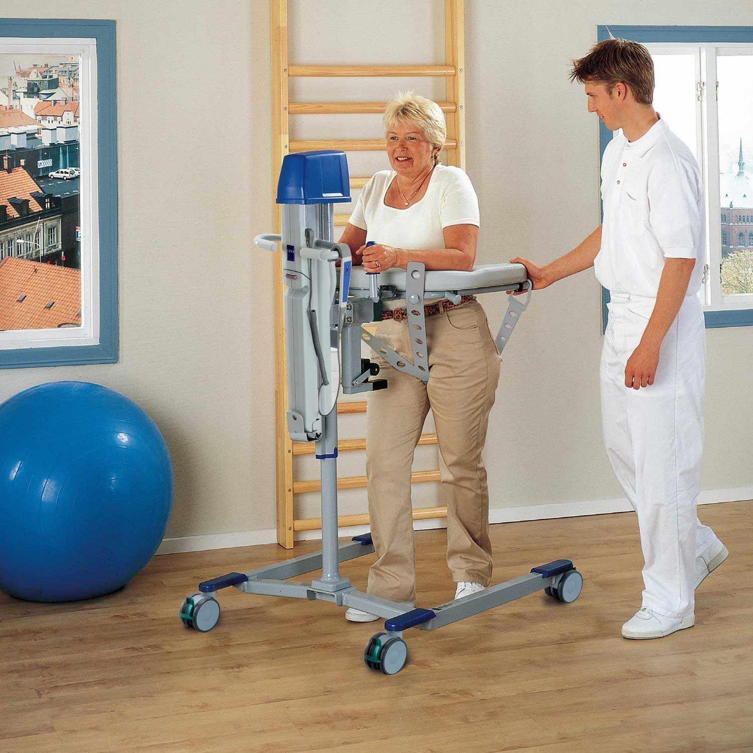 Arjo manual lift walker manual