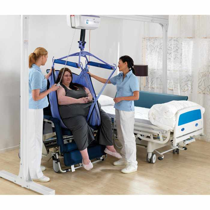 Arjo Maxi Sky 1000 bariatric power ceiling lift system