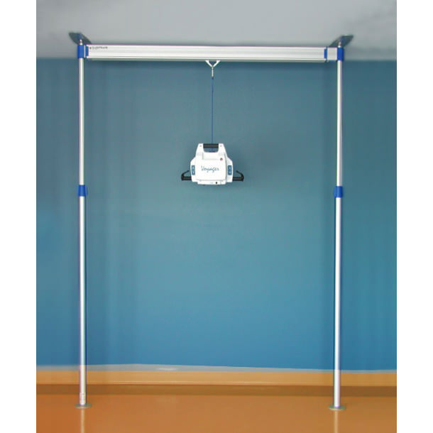 Arjo Voyager lift with easytrack 2 post system