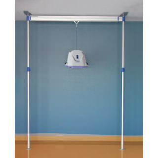 Maxi Sky 440 power ceiling lift with easytrack 2 post system
