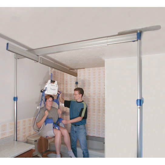 Arjo Voyager lift with easytrack
