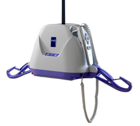 Arjo Maxi Sky 440 power ceiling lift with easytrack