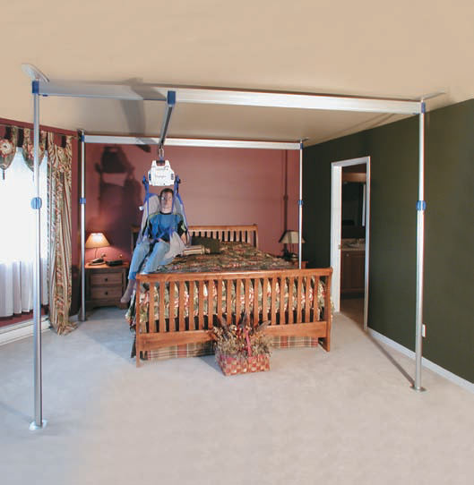 Arjo Voyager ceiling lift with easytrack