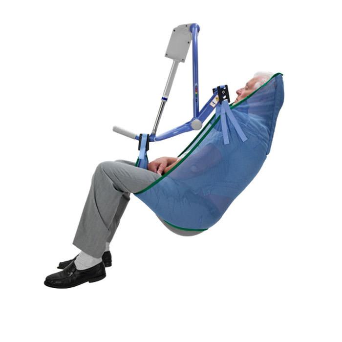 Arjo standard unpadded mesh clip sling for 4-point patient lift