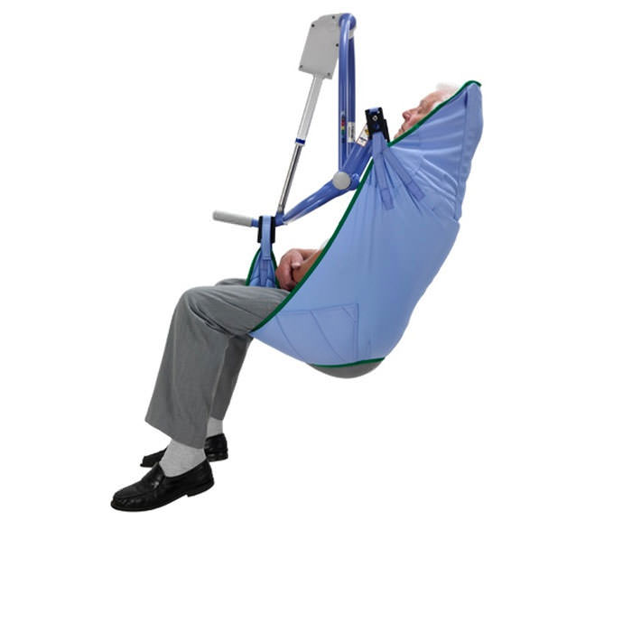 Arjo padded extended legs clip sling for 4-point patient lift