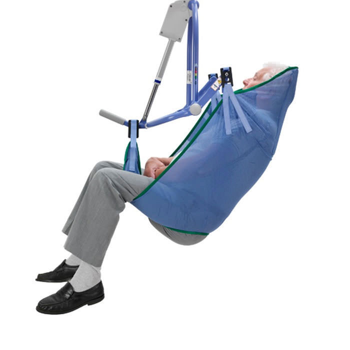 Arjo mesh extended legs clip sling for 4-point patient lift