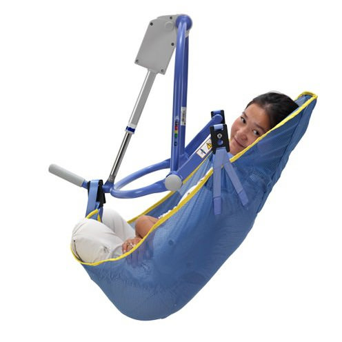 Arjo double amputee mesh clip sling