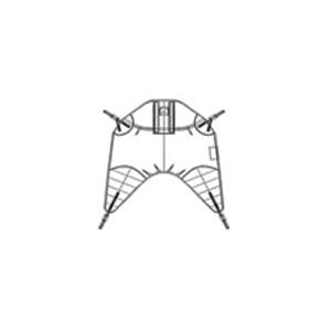 Arjo 4-point standard disposable clip flites - MFA1000M