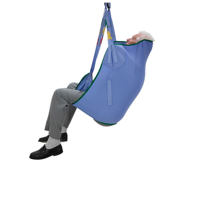 Arjo large standard padded loop sling with head support