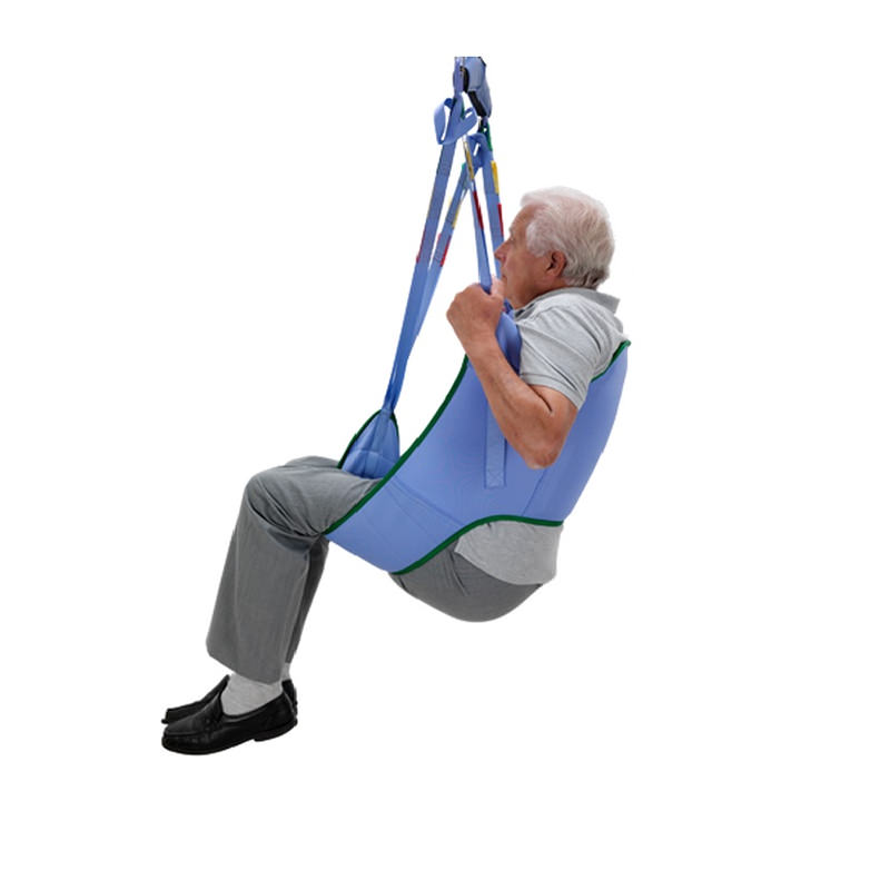 Arjo standard padded loop sling without head support for 2-point patient lift