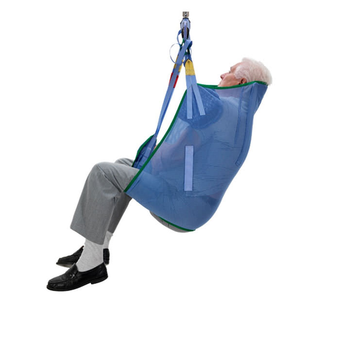 Arjo bathing loop sling with head support for 2-point patient lift