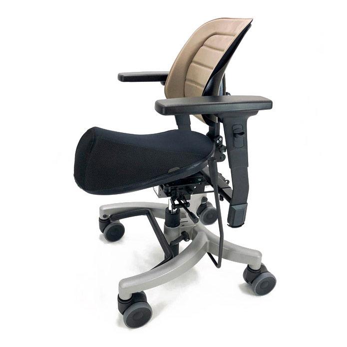 Krabat Jockey Desk - Black seat